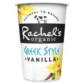 Rachel's Greek Style Vanilla Yogurt