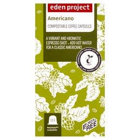 Eden Project Americano Coffee Capsules 10s