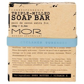 MOR Soap Bar Cyclamen Tuberose