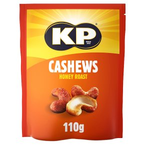 KP Jumbo Honey Roast Cashews