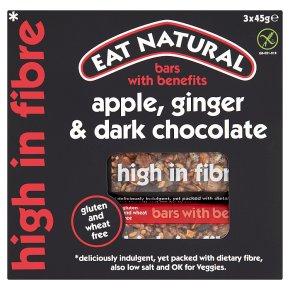 Eat Natural Ginger Apple Dark Chocolate