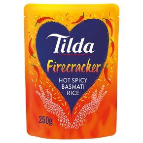 Tilda Gluten Free Firecracker Hot Spicy Basmati