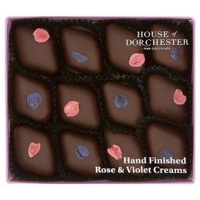 House of Dorchester Hand Finished Rose & Violet Creams