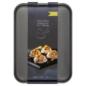 from Waitrose 24x18cm non-stick baking tray