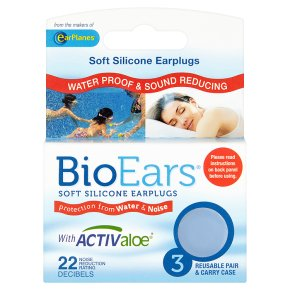 BioEars Soft Silicone Earplugs