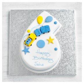 6th Birthday Train Cake