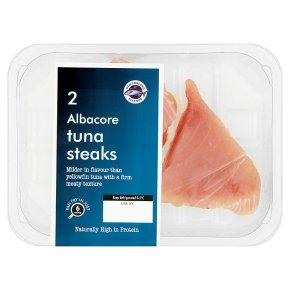 New England Seafood 2 Albacore Tuna Steaks