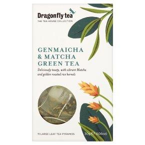 Dragonfly Tea Genmaicha & Matcha Green Tea 15s