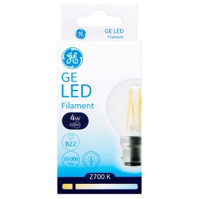 GE LED Filament Round