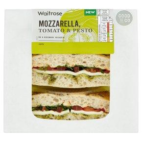 GOOD TO GO Mozzarella Tomato & Pesto