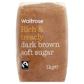 Waitrose Dark Brown Soft Sugar