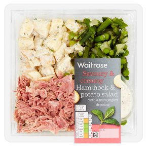 Waitrose Ham Hock & Potato Layered Salad