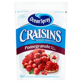 Ocean Spray pomegranate infused craisins