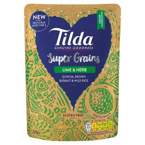 Tilda Super Grains Lime & Herb