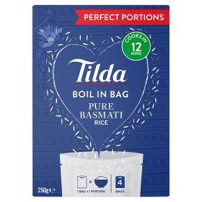 Tilda pure Pure Basmati Boil in Bag Rice
