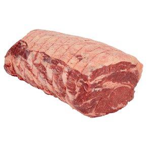 Waitrose 1 Dry Aged Aberdeen Angus Beef Boneless Forerib