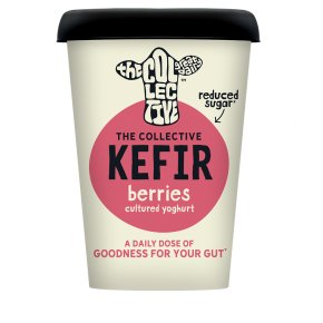 The Collective Dairy Kefir Yoghurt Berries 'n' Hibiscus