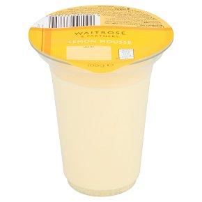 Waitrose Lemon Mousse