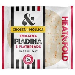 Crosta & Mollica piada flatbreads