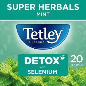 Tetley Super Mint Detox