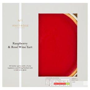Waitrose 1 Raspberry & Rose Wine Tart