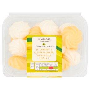 Waitrose Lemon & Elderflower Meringue Shells