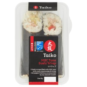 Taiko MSC Tuna Sushi Wrap