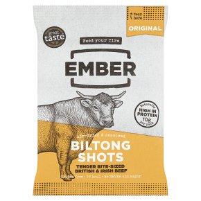 Ember Original Biltong Shots