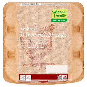 Waitrose Eggs British Blacktail Free Range