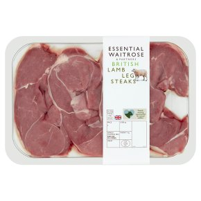essential Waitrose British Lamb Steaks