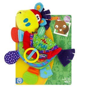 Nuby Flip Flop Teether Book
