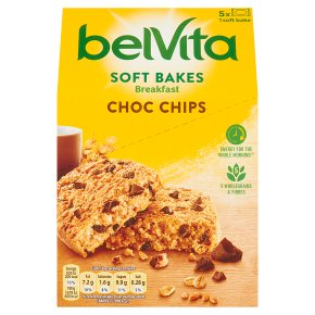 Belvita Breakfast Soft Bakes Choc Chips 5s