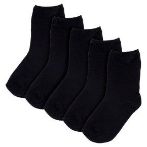 Waitrose New Ankle Socks Black 9-12