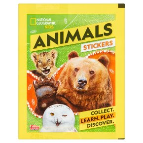National Geographic Animal Stickers