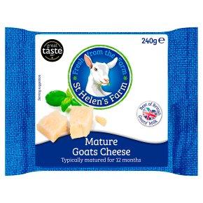 St Helen's Farm mature goats cheese