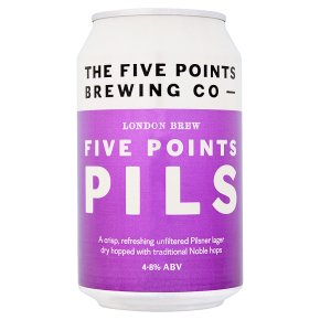 London Brew Five Points Pils