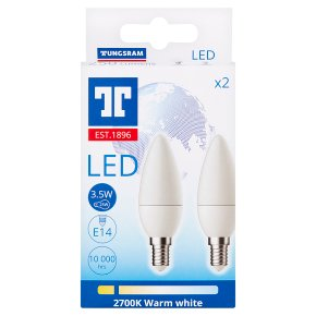 GE LED Candle 2s