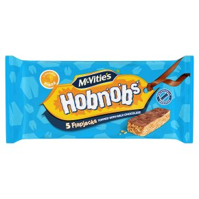 McVitie's 5 Flapjacks by Hobnobs Milk Choc