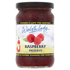 Welsh Lady raspberry conserve