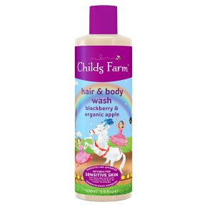 Childs Farm Hair & Body Wash Blackberry