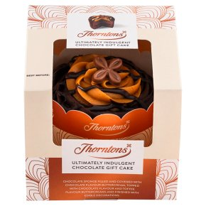 Thorntons Indulgent Chocolate Gift Cake