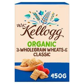 W K Kellogg Organic Classic Wheats Cereal