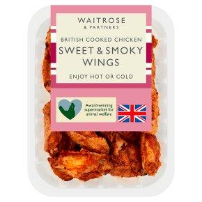 Waitrose British Chicken Sweet & Smokey Wings
