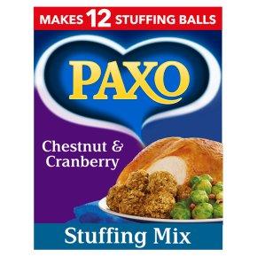 Paxo Chestnut & Cranberry Stuffing Mix