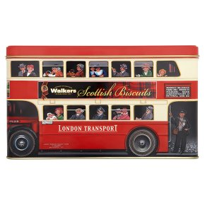 Walkers Biscuits London Bus Tin