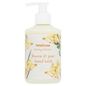 Waitrose Heritage Freesia Hand Wash