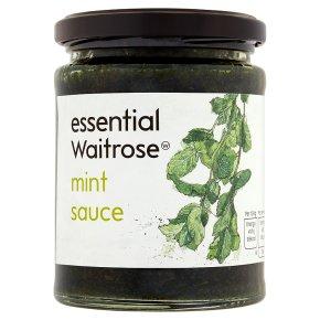 essential Waitrose mint sauce