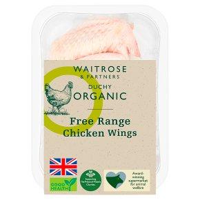 Waitrose Duchy Organic 4 Free Range British chicken wings