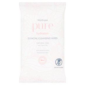Waitrose Pure facial wipes