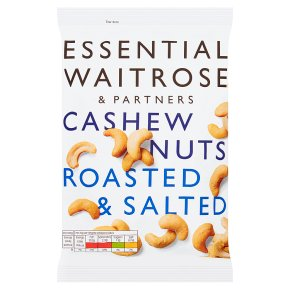 Essential Waitrose Cashew Nuts Roasted and Salted
